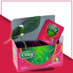 trà cozy hương vải - nguyên liệu pha chế
